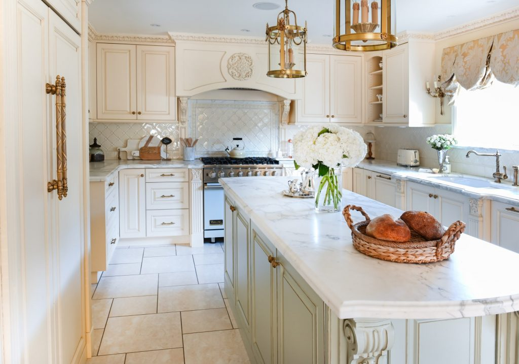 Burnaby European Luxe Kitchen Maria DeCotiis Interior Design