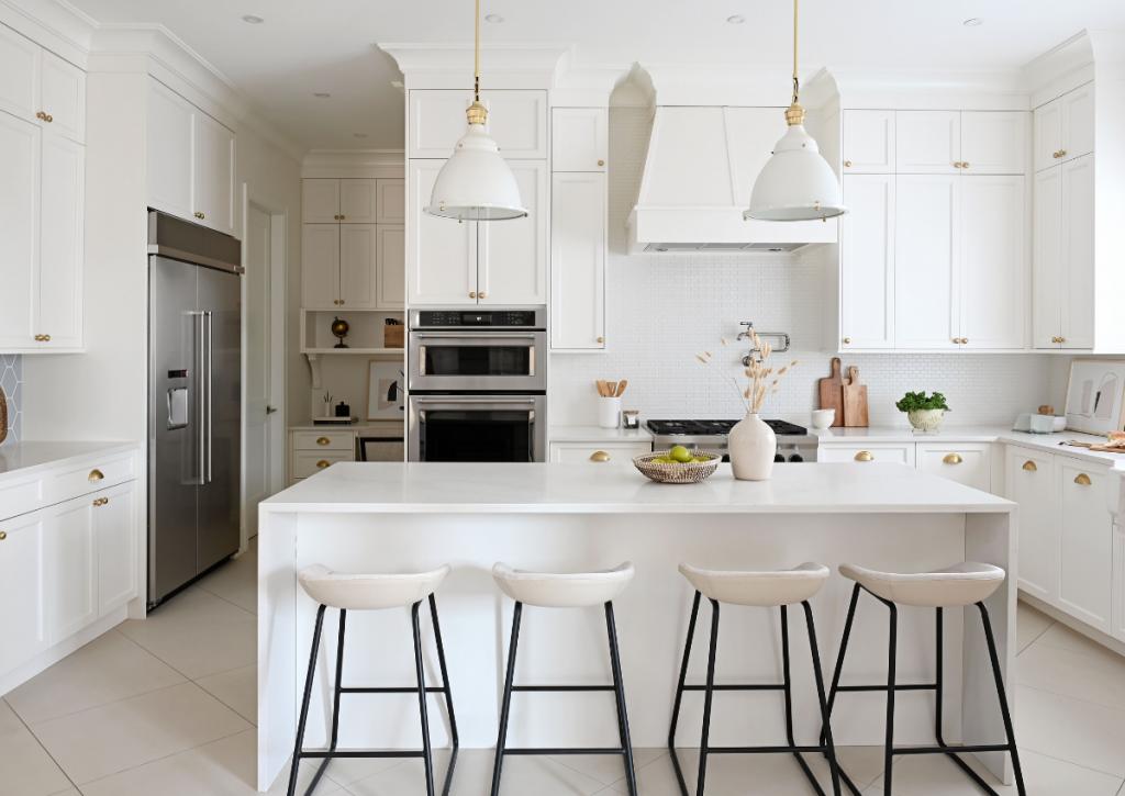 Maria De Cotis Interior Design Vancouver Bright Kitchen Custom Design