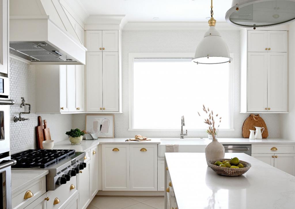 Maria De Cotis Interior Design Vancouver Bright and Airy Kitchen Custom Design